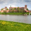 Wawel Castle, Poland - Stock Photo