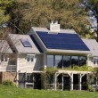 Solar Home — Stock Photo
