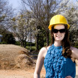 Female Construction Worker — Stock Photo #2807963