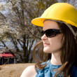 Female Construction Worker — Stock Photo #2808025