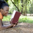 WomReading Book — Stock Photo #2896018