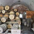 Stock Photo: Restored Civil War Store Room