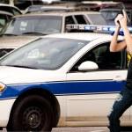 Police Woman — Stock Photo #3335971