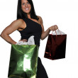 Woman Shopping Bags - Stock Photo