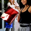 Women Shopping Bags — Stock Photo