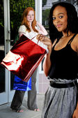 Women Shopping Bags — Stockfoto