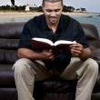Man Reading a Book — Stock Photo