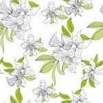 Romantic seamless wallpaper — Stock Vector #3026096