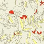 Romantic seamless wallpaper — Stock Vector #3374890