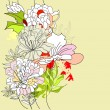 Seamless pattern with flowers - 