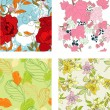 Royalty-Free Stock Vector Image: Floral seamless pattern. Set 8
