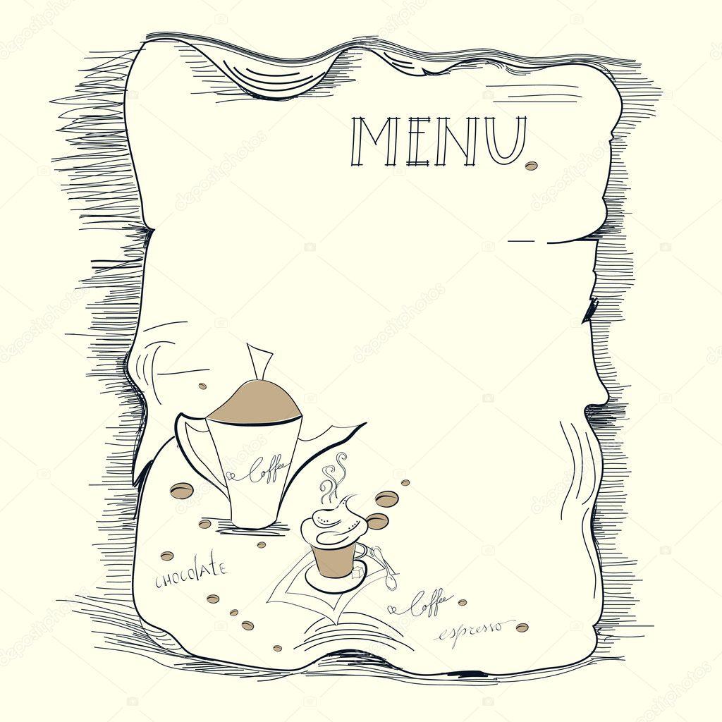 Word: Blank Menu Templates Free, Restaurant Menu Templates Free, Kids ...