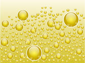 Abstract liquid bubbles — Vector de stock