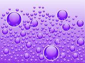 Abstract liquid bubbles — Stock Vector