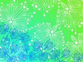 Květina abstrakce pozadí — Stock vektor
