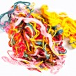 Stock Photo: Varicoloured threads