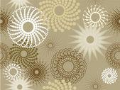 花のパターン — ストックベクタ