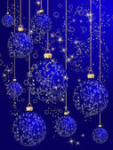 Stylized Christmas tree — Stock Vector
