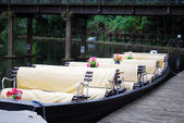 Spreewald boat — Stock Photo