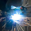 Stock Photo: Welder