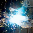 Metalworker welder — Stock Photo