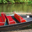 Stock Photo: Spreewald boat