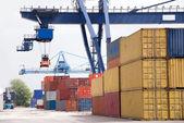 Container crane — Stock Photo