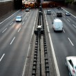 Cars motorway — Stock Photo