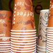 Stock Photo: Paper cups