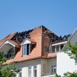 Fire roof — Stockfoto