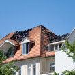 Fire roof - Stockfoto