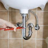 Plumber drain — Stock Photo