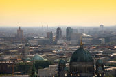 Berlin skyline potsdamer platz — Stock Photo