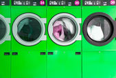 Clothes washers — Stock Photo