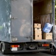 House moving van — Stock Photo #3787747
