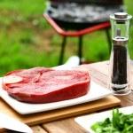 Fresh and very tasty steak — Stock Photo #3709181