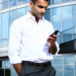 Young and attractive business man — Stock Photo