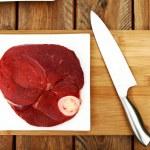 Fresh and very tasty steak — Stock Photo #3803152