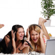 A two young girls at home — Stock Photo #3827058