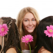 A group of beautiful young womans — Stock Photo #3827175