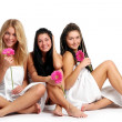 A group of beautiful young womans — Stock Photo #3827188