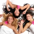 A group of beautiful young womans — Stock Photo #3827204