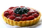 Sweet dessert fruit cake — Stock Photo