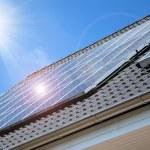 panel solar — Foto de Stock