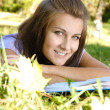 beautiful student — Stock Photo #3869098