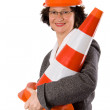 Female construction engineer — Stock Photo #2742842