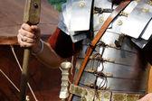 Roman armor — Stock Photo