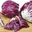 Preparation of radicchio — Stock Photo