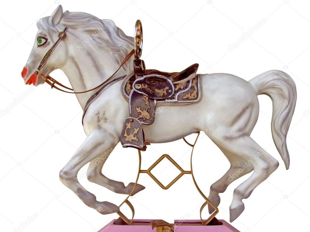 Merry go round horse stock photo saphira 3147359 for Merry go round horse template
