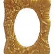 图库照片: Gilt picture frame